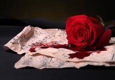 Het lied van de liefde Royalty-vrije Stock Afbeeldingen