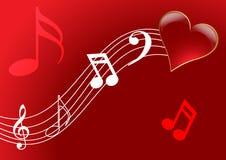 Het lied van de liefde Royalty-vrije Stock Foto