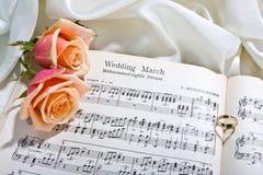Het lied van het huwelijk Stock Foto's
