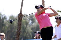 Het lied van Jennifer bij de het golftoernooien 2015 van de ANAinspiratie Stock Fotografie