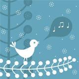 Het lied van Kerstmis stock illustratie