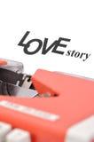 Het liefdeverhaal Royalty-vrije Stock Afbeelding
