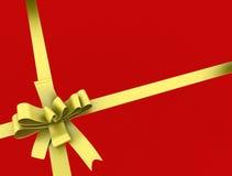 Het lint en de boog van de gift Royalty-vrije Stock Foto