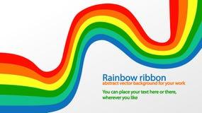 Het lint van de regenboog Royalty-vrije Stock Afbeelding