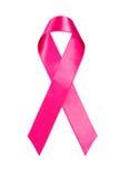 Het Lint van Kanker van de borst Stock Afbeeldingen