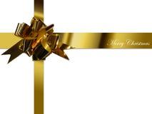 Het lint van Kerstmis Stock Foto