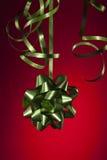 Het lint van Kerstmis Royalty-vrije Stock Afbeeldingen