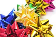 Het lintbogen van de gift Stock Foto's