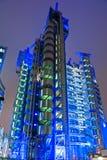 Het Lloyd Gebouw, Londen, het UK. Stock Afbeeldingen