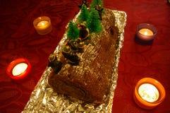 Het logboek van de chocolade Royalty-vrije Stock Foto's