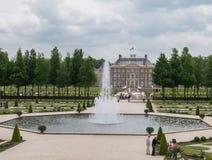 Het-Loo för kunglig slott i Nederländerna Royaltyfri Foto