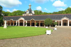 Het Loo palace. The historic stables in Het Loo palace in Apeldoorn, Netherlands Stock Image