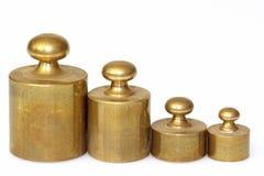 Het loodgewichten van de apotheek Stock Fotografie