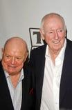 Het loodje Newhart, Dick Martin, trekt Rickles aan Stock Foto's