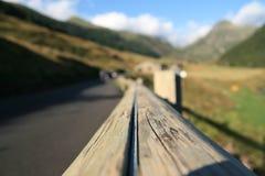 Het lopen activiteiten in Andorra royalty-vrije stock foto