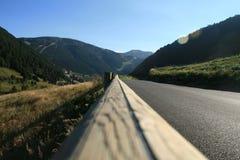 Het lopen activiteiten in Andorra royalty-vrije stock foto's