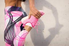 Het lopen en sportconcept stock foto