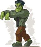 Het lopen Frankenstein stock illustratie