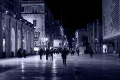 Het lopen in het Kapitaal Royalty-vrije Stock Fotografie