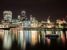 Het lopen in Londen Stock Foto