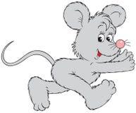 Het lopen muis Stock Afbeeldingen