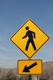 Het lopen Teken Stock Fotografie