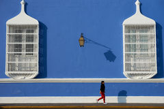 Het lopen in Trujillo Stock Afbeeldingen