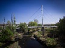 Het lopen van brug in Arvada Stock Foto's