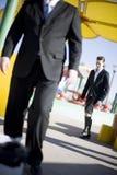 Het lopen van Businesspeople stock foto's