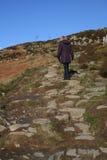 Het Lopen van de heuvel. Royalty-vrije Stock Foto