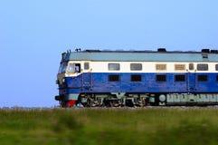 Het lopen van de trein stock fotografie