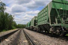 Het Lopen van de trein Stock Afbeelding