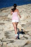 Het lopen van de vrouw Royalty-vrije Stock Fotografie