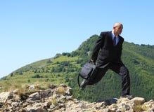 Het lopen van de zakenman Royalty-vrije Stock Fotografie