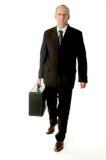 Het lopen van de zakenman Stock Foto's