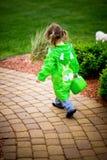 Het lopen van het kind Royalty-vrije Stock Afbeeldingen