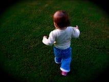 Het lopen van het Meisje van de baby stock afbeeldingen