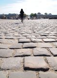 Het lopen voor Chateau DE Versailles Frankrijk Royalty-vrije Stock Afbeeldingen