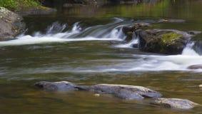 Het lopende water van Noord-Carolina Stock Afbeeldingen