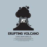 Het losbarsten Volcano Natural Disaster Stock Fotografie