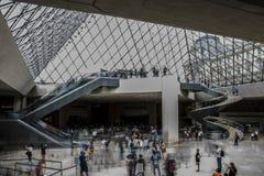 Het Louvre Royalty-vrije Stock Foto