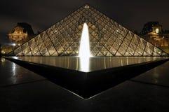 Het Louvre, Parijs Royalty-vrije Stock Foto