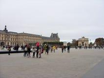 Het Louvre in Parijs Royalty-vrije Stock Afbeelding