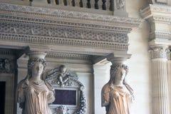 Het Louvre van Parijs Royalty-vrije Stock Afbeelding