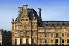 Het Louvremuseum op 14 Maart, 2012 in Parijs, Frankrijk Stock Foto