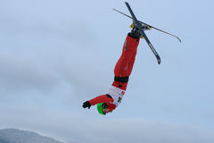 Het lucht ski?en Royalty-vrije Stock Foto