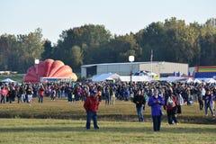 Het Luchtballon van Adirondack van 2016 Festival van de de Hete Stock Foto's