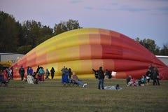 Het Luchtballon van Adirondack van 2016 Festival van de de Hete Royalty-vrije Stock Afbeelding