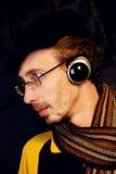 Het luisteren muziek Royalty-vrije Stock Fotografie