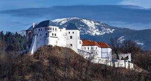 Het Lupciansky-kasteel - Slowakije Stock Afbeeldingen